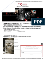 Divórcio, o Novo Romance Do Professor Ricardo Lísias, Narra o Trauma Da Separação  Academia Internacional de Cinema (AIC) - Escola de Cinema - RJ - SP - Online