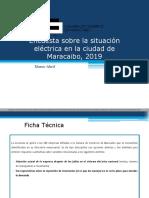Resultados Encuesta Sobre La Situacion Eléctrica en La Ciudad de Maracaibo 2019