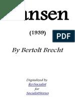 Dansen by Bertolt Brecht