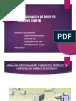 Redes3 Configuracion de Dhcp