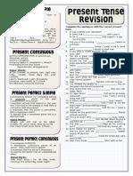Present Tenses Revision Grammar Drills 93083