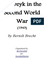 Schweyk in the Second World War by Bertolt Brecht