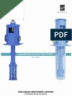 condensate extracting pump