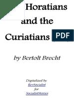 The Horatians and the Curiatians by Bertolt Brecht