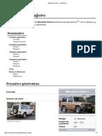 Mitsubishi Pajero — WikipédiaMitsubishi Pajero — Wikipédia