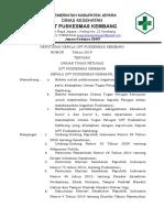 Sk Uraian Tugas Pkm 2019
