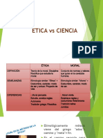 Etica vs Ciencia