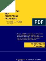 Theoretical and Conceptual Framework Criticism