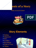 Elements of Story Original Ppt 1