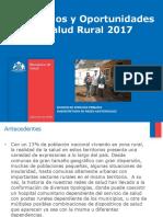 Desafos y Oportunidades Salud Rural 2017