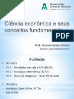 2. Ciência Econômica e Seus Conceitos Fundamentais II