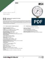 manometro glicerina