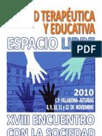 Programa del XVIII Encuentro con la Sociedad. Centro Penitenciario de Villabona (Asturias)