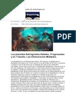 Los planetas Retrogrados natales progresados y en transito.pdf