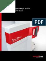 Icp-oes Plasma Quant Pq9000