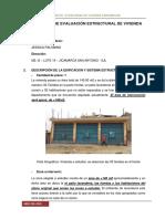 informe de una vivienda de 1 piso