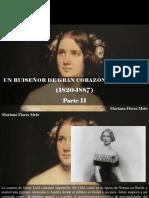 Mariana Flores Melo - Un Ruiseñor de Gran Corazón, Jenny Lind 1820-1887, Parte II