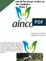 Edgard Raúl Leoni Moreno - La Importancia de Las Áreas Verdes en LasCiudades, Parte I