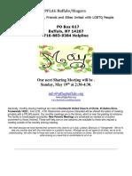 May Newsletter 2019  PFLAG Buffalo/Niagara