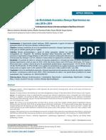 Análise Espacial e Tendências de Mortalidade Associada a Doenças Hipertensivas