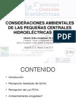 Consideraciones ambientales de las centrales hidroeléctricas