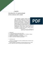 Epistemología de Las Ciencias de La Salud