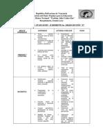 CRONOGRAMA DE ACTIVIDADES Y HORARIO DE CLASES 3ER GRADO F.docx