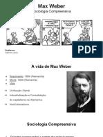 Sociologia - Weber Slide