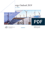 Anual Energy Outlook 2019