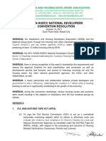 SHDA 2011 Convention Resolutions