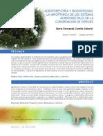 Importancia de Los Sistemas Agroforestales