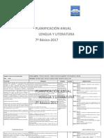 Planificacion Anual Lengua y Literatura 7Basico 2017.docx