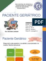 Paciente geriatrico