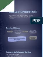 Teoria Del Propietario - Exposición