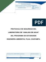 PROTOCOLO DE SEGURIDAD LABORATORIO ANALISIS DE AGUA 2018-2.docx