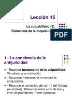 Lección 15