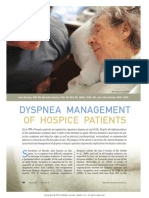 Dyspnea Management of Hospice Patients