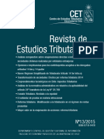 Revista de Estudios TributariosN13