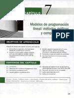 CAP. 07 Modelos de programación lineal metodo grafico.PDF