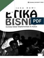 Sutrisna Dewi Etika Bisnis Konsep Dasar Implementasi Dan Khusus Universitas Udayana. Intro