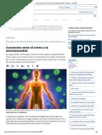 Asociación entre el estrés y la autoinmunidad