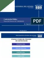 Fases Del Proceso de Contratacion Ab. Alejandra Castro
