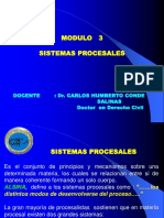 Modulo 3 - Sistemas Procesales