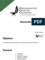 Clase 4- Matemáticas