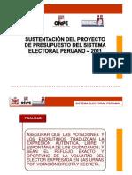 Sistema Electoral y Presupuesto POR MARCIAL ALVARDO