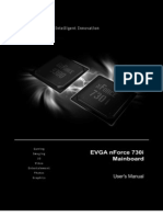 EVGA nForce Mainboard User Manual