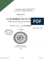La vie berbère par les textes, parlers du sud-ouest marocain (Tachelhit).pdf