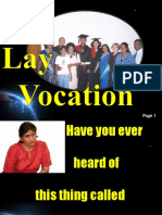 The Lay Vocation
