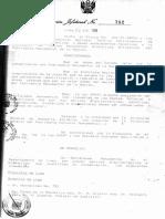 RESOLUCIÓN  N° 782- 1991