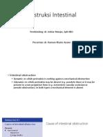 Obstruksi Intestinal Latihan Presentasi